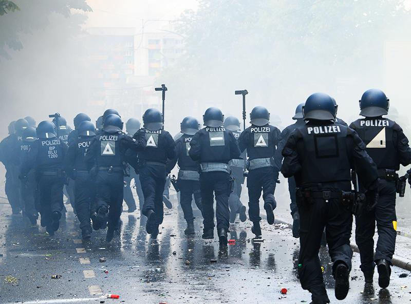 Беспорядки в Дрездене