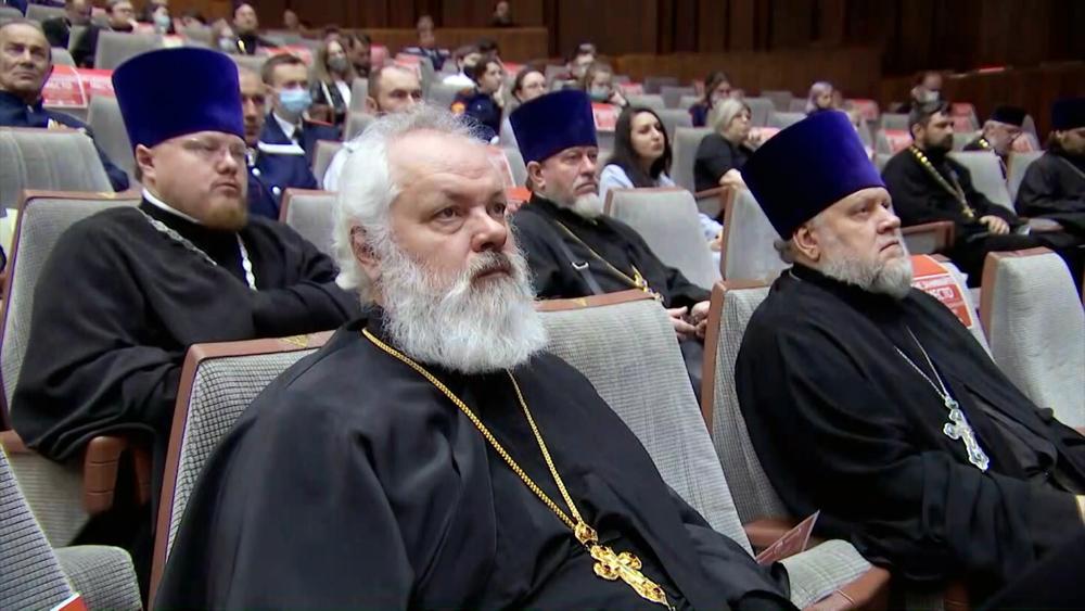Встреча представителей церкви и казачества в Москве