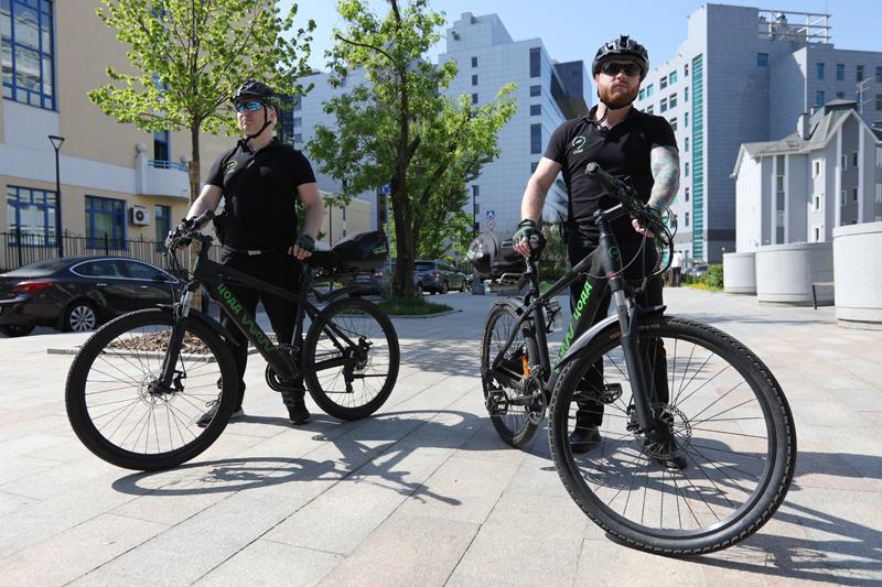 Начало работы инспекторов велопатруля ЦОДД