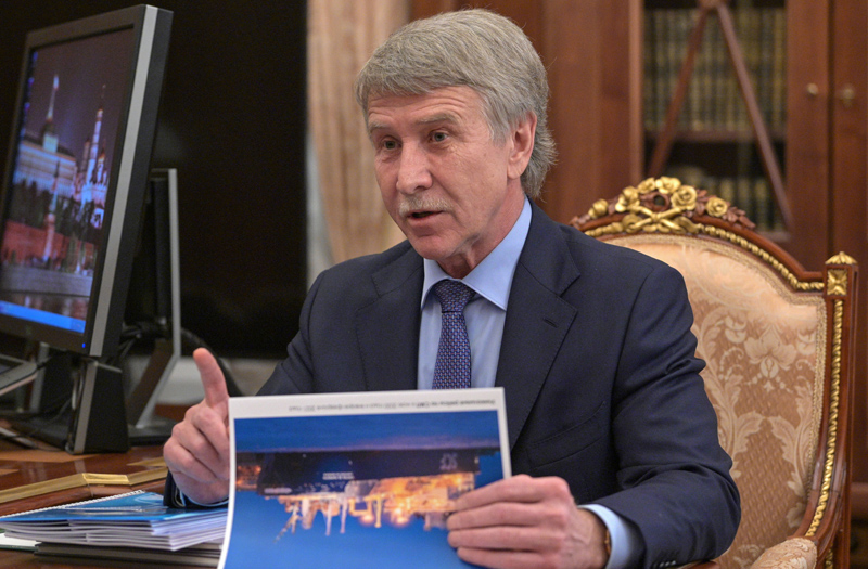 """Председатель правления ПАО """"Новатэк"""" Леонид Михельсон"""