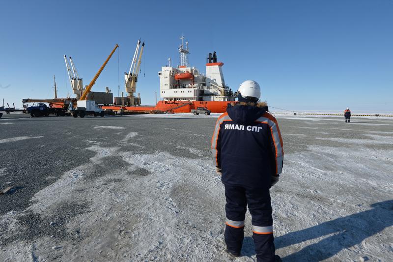 Завод по производству сжиженного природного газа на Ямале