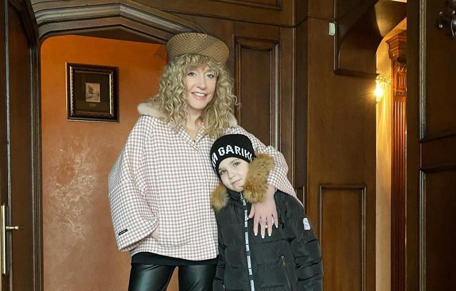 Алла Пугачева и ее сын Гарри