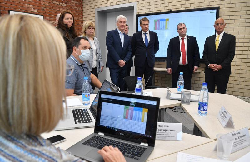 Открытие Кадрового центра департамента здравоохранения Москвы