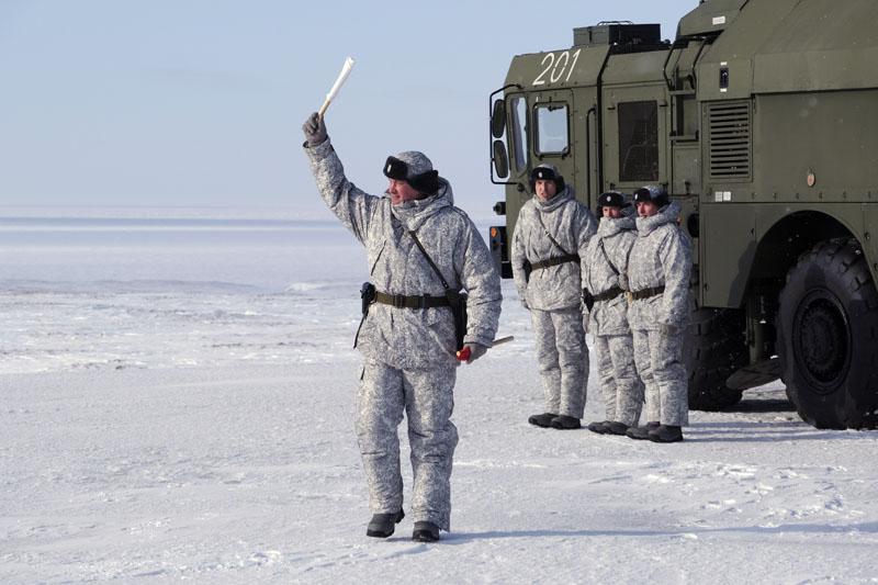 Российская военная база в Арктике