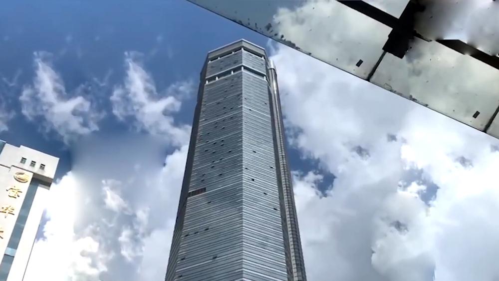Небоскреб в Китае