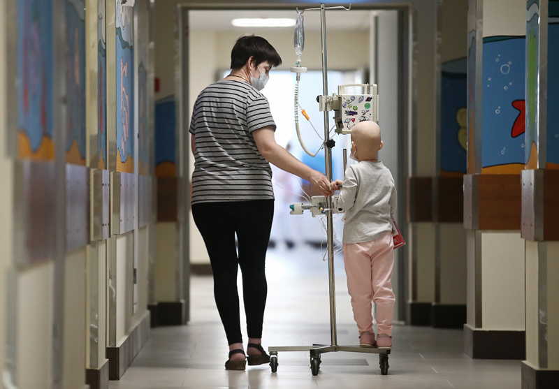 Онкологическое отделение детской больницы