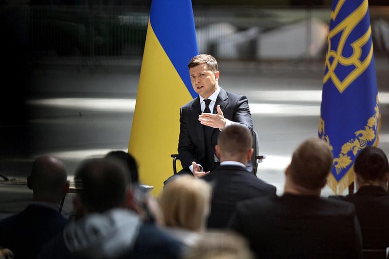 Пресс-конференция Владимира Зеленского