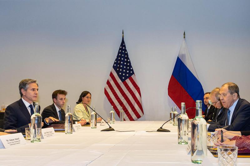 Сергей Лавров и государственный секретарь США Энтони Блинкен