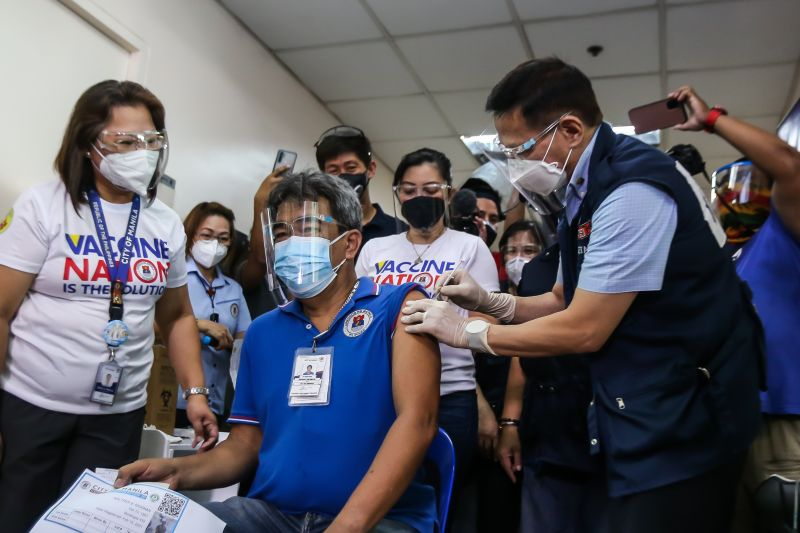 "Вакцинация ""Спутником V"" на Филиппинах"