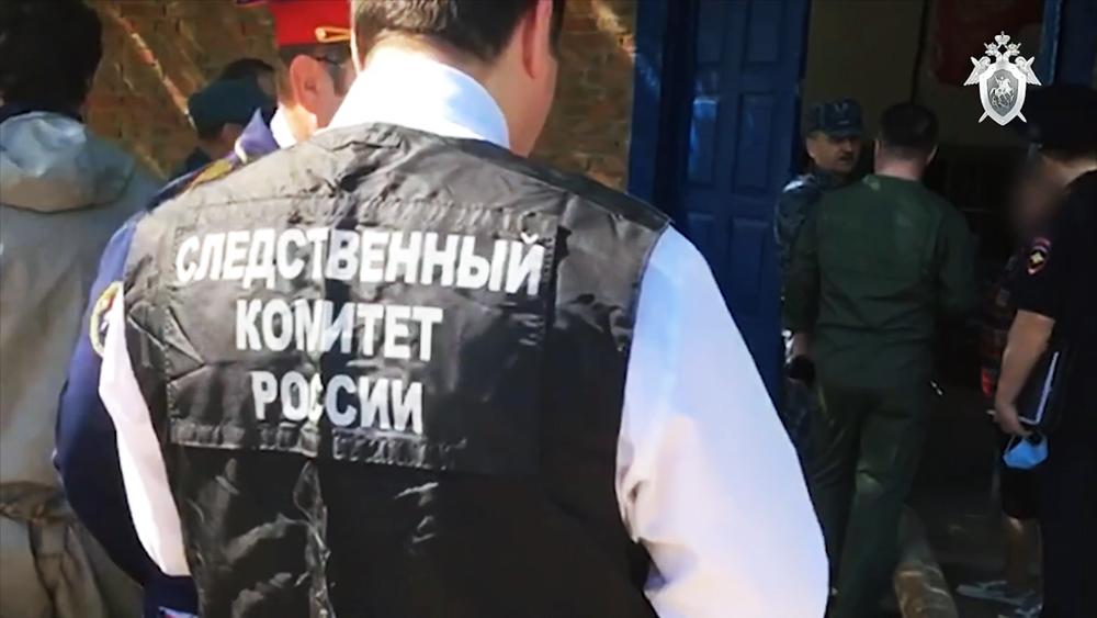 Расследование аварии на очистных сооружениях в Ростовской области