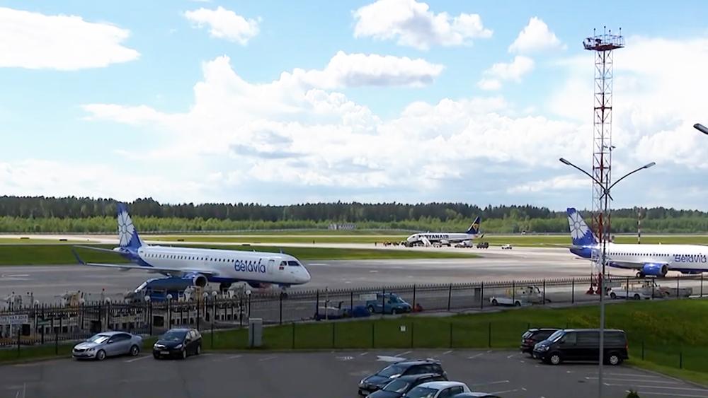 Аэропорт в Белоруруссии
