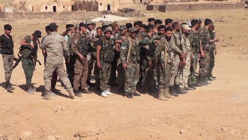 Сирийский спецназ