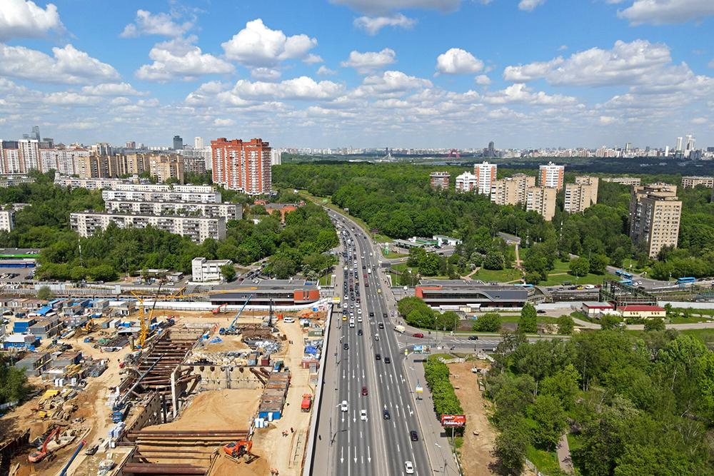 """Строительство БКЛ """"Кунцевская"""""""