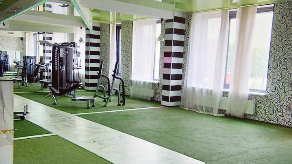 Закрывшейся фитнес-клуб