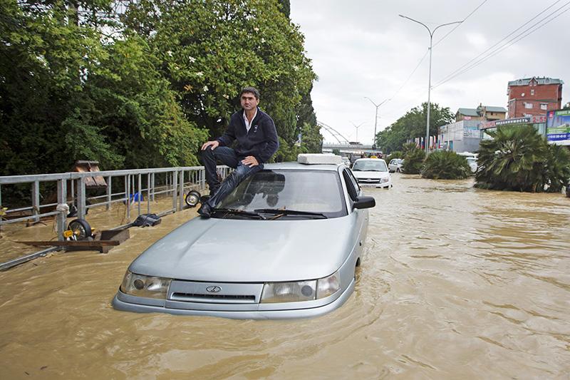 Последствие наводнения