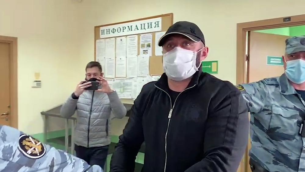 Криминальный авторитет Циркач (Олег Пирогов)