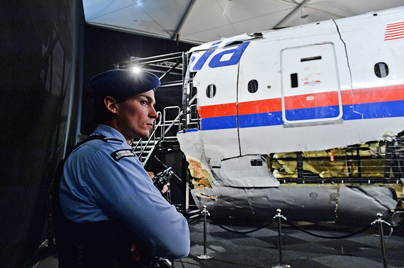 Обломки лайнера Boeing 777 Malaysia Airlines (рейс MH17)