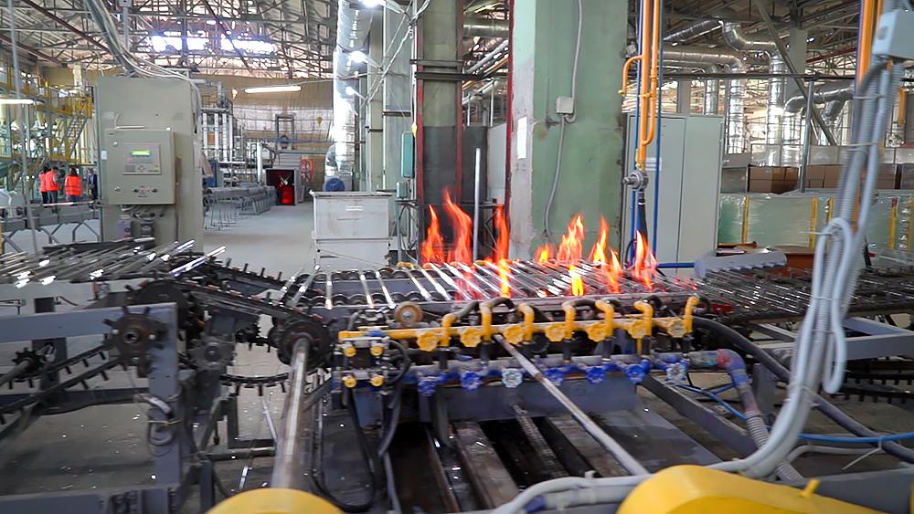 Производство увиолевого стекла