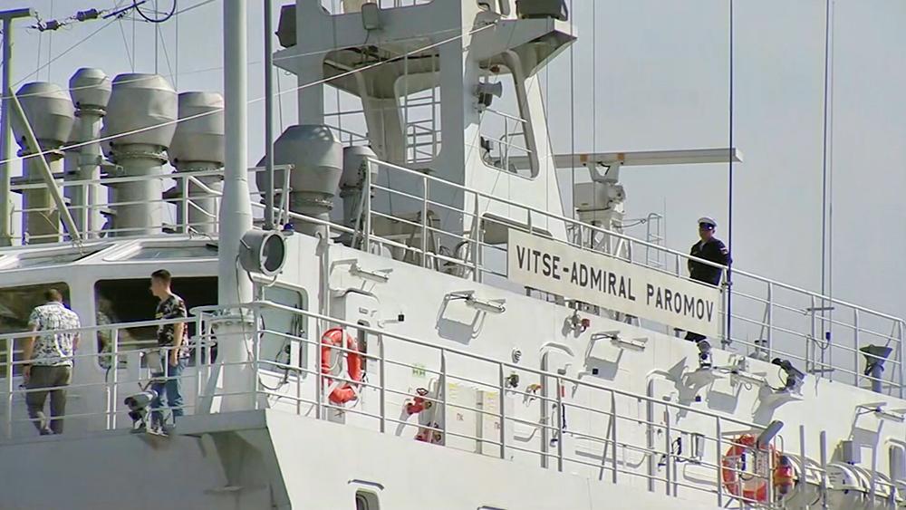 "Танкер ""Вице-адмирал Паромов"" ВМФ России"
