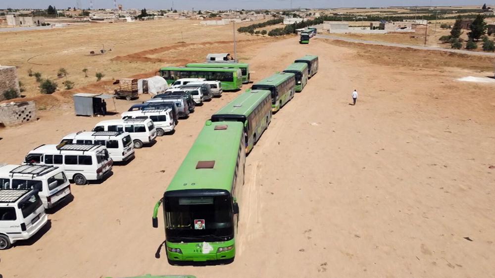 Гуманитарные коридоры в Сирии