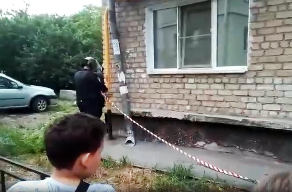 Сотрудники полиции на стрельбы в Екатеринбурге
