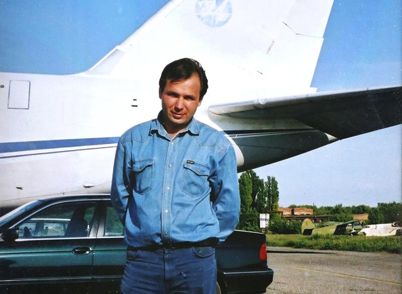 Летчик Константин Ярошенко