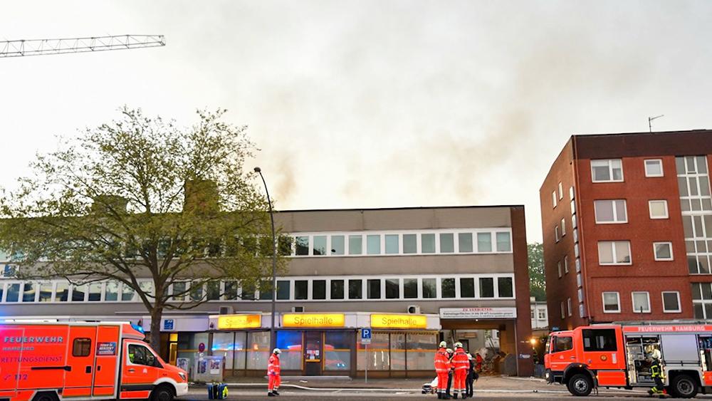 Взрыв в Гамбурге