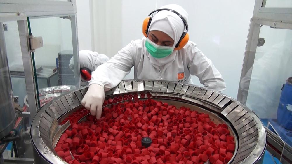Фармацевтическая фабрика в Алеппо