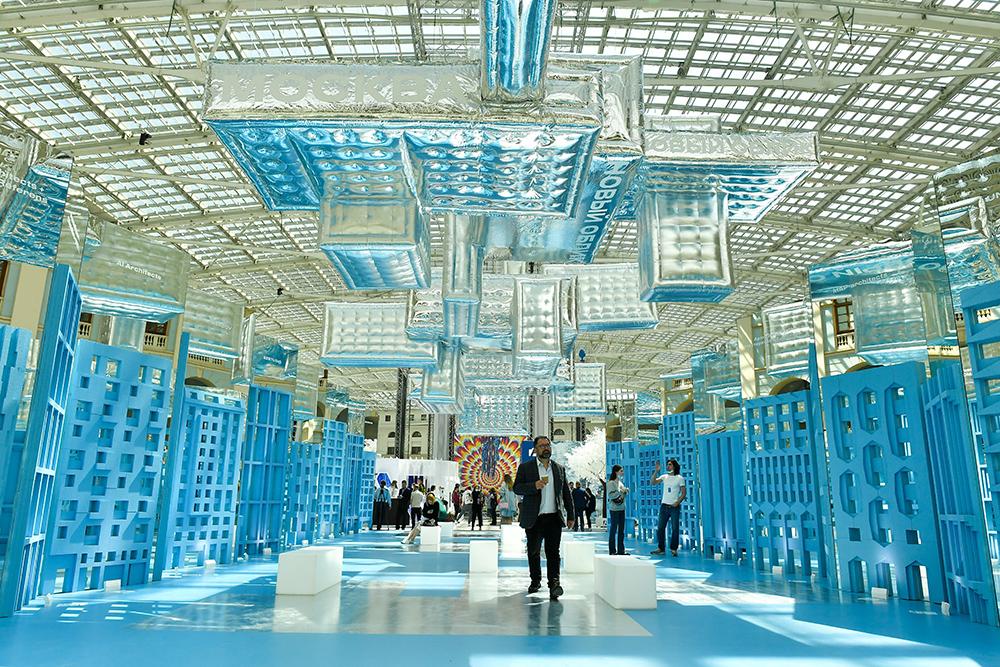 """Открытие XXVI Международной выставки архитектуры и дизайна """"АРХ Москва 2021"""""""