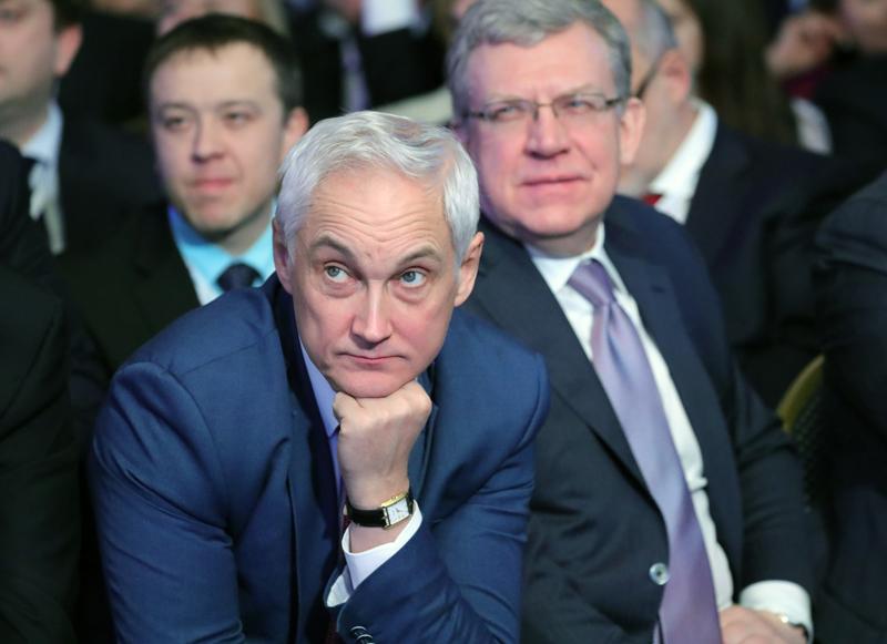 Андрей Белоусов и Алексей Кудрин