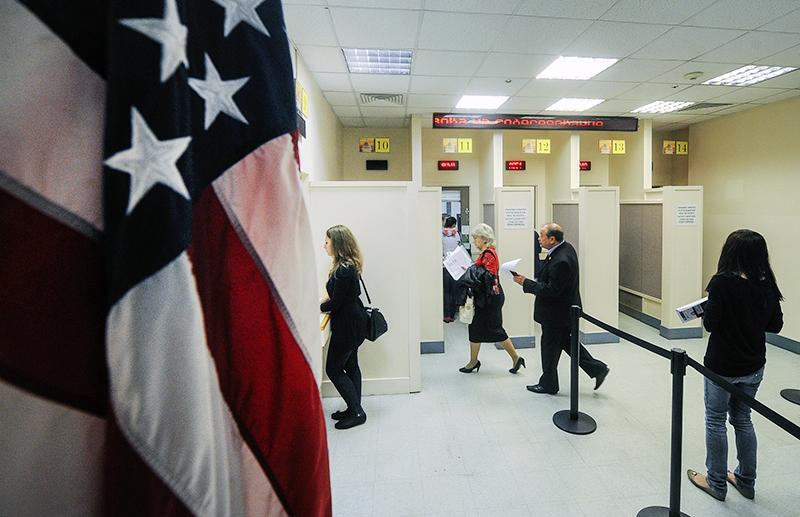 Работа посольства США