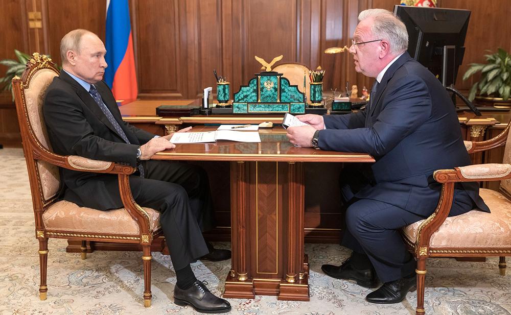 Владимир Путин и Дмитрий Шугаев