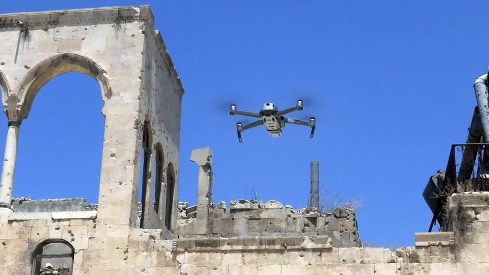 Создание 3D-модели древнего храма в Алеппо