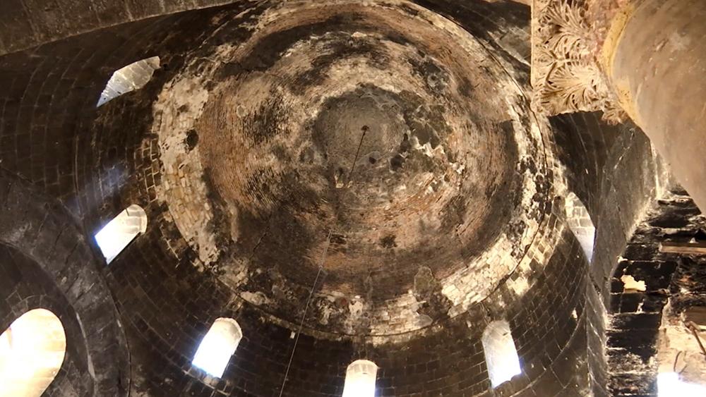 Древний храм в Алеппо
