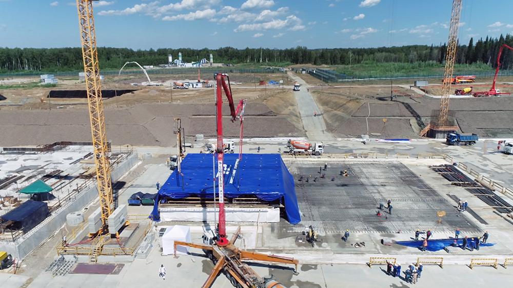 Строительство реактора БРЕСТ в Томской области
