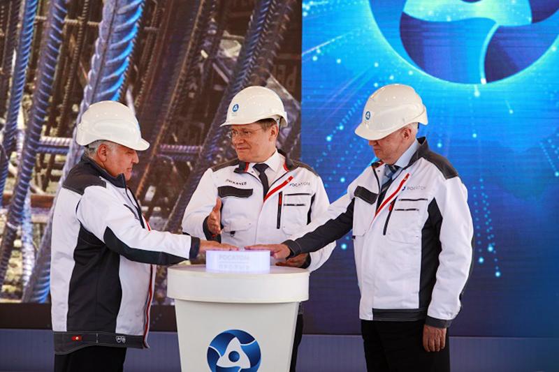 запуск строительства реактора БРЕСТ в Томской области