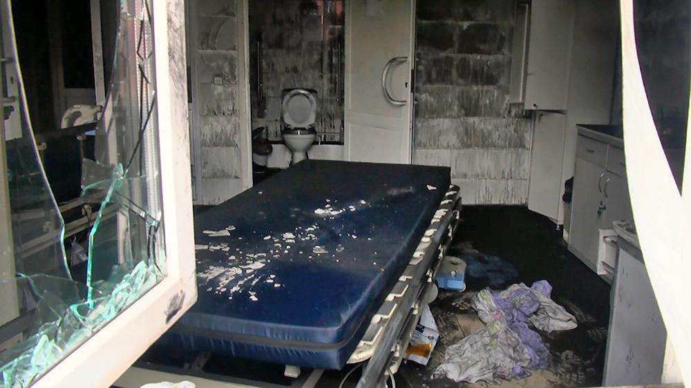 Последствия пожара в областной больнице Рязани
