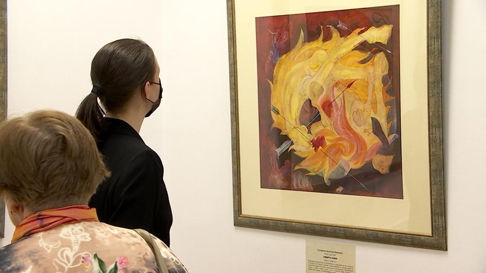 Выставка художника Анатолия Сухорукова