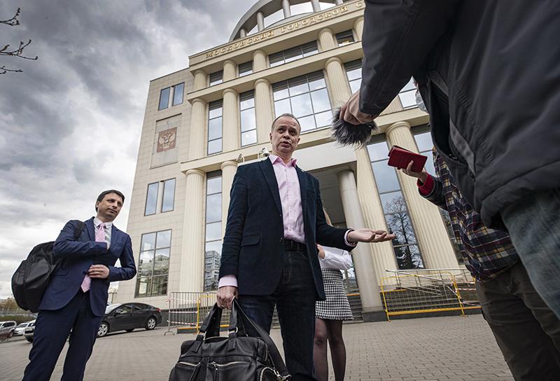 Адвокат Иван Павлов, представляющий интересы ФБК (ФБК, признан в РФ НКО-иноагентом)