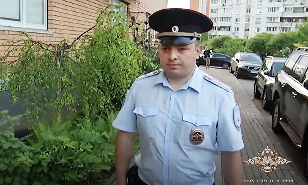 Старший участковый Денис Промыслов