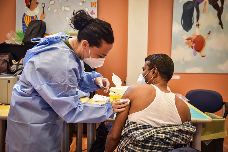 Вакцинация в Италии