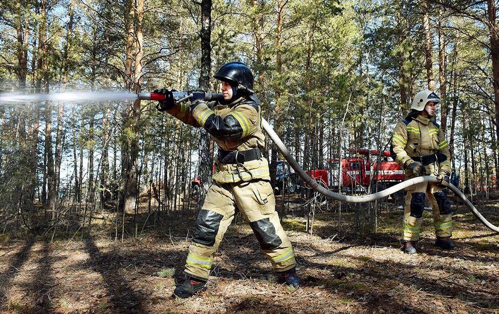 Тушение природных пожаров