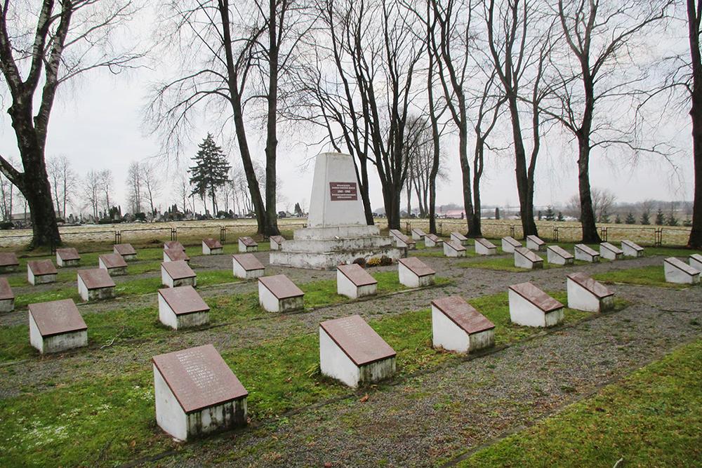 Воинское захоронение в Бартининкай в Литве