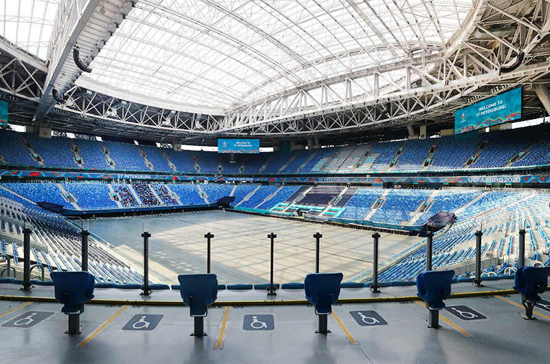 """Стадион """"Газпром-Арена"""" в Санкт-Петербурге"""