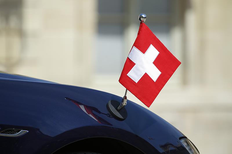 Дипломатический автомобиль Швейцарии