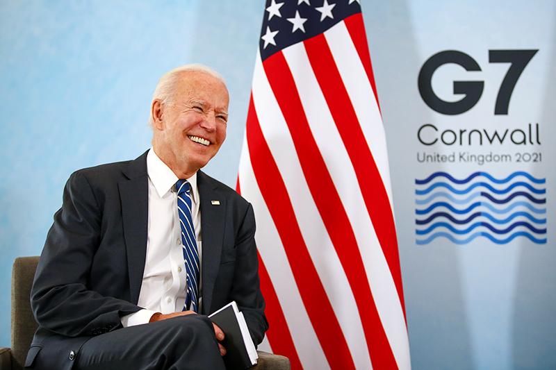 Джо Байден на саммите G7