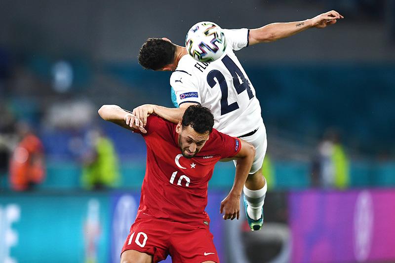 Матч между Италией и Турцией в рамках чемпионата Евро-2020