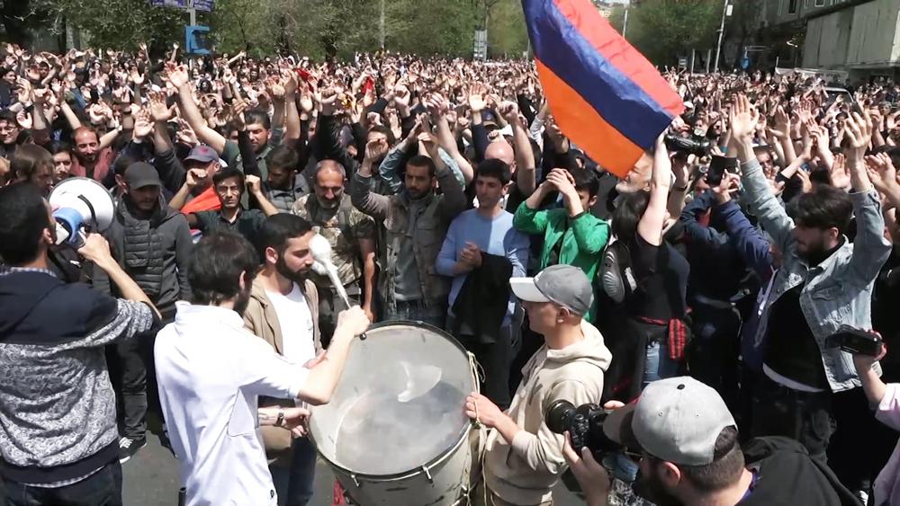 Протесты в Армении
