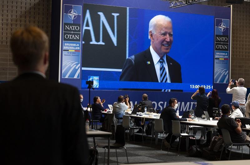 Джо Байден на саммите НАТО