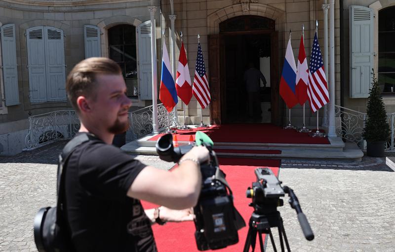 Вилла Ла-Гранж в Женеве, где 16 июня пройдет встреча президентов России и США